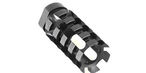 "Recoil Technologies ""Pineapple"" AR-15 Muzzle Brake 1/2x28 Pitch"
