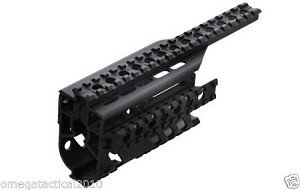 UTG Tactical Metal Quad Weaver Rail - For Ruger® Mini-14®