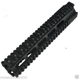 "Omega Tactical Inc. O-Pro 10"" Inch Free Floating Rail System"
