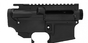 Anderson Mfg Matched Ar-15 Stripped Upper & 80% Lower Combo Kit  *Black*