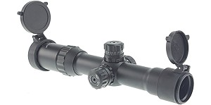 Vector Optics Sniper Tactical Rifle Scope 1-4X28 Etched Mil-Spec Glass Reticle
