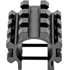 Omega Mfg Inc Shotgun Tri-Rail Barrel Mounting System