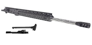 "Davidson Defense ""Skyscraper"" AR-15 Upper Receiver 22"" Ultra-Match .224 Valkyrie Stainless 1-7T  Spiral Fluted Heavy Barrel 15"" KeyMod Handguard (Assembled or Unassembled)"