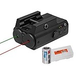 NcSTAR Red & Green Both Low Pro Pictinnny Rail Mount Ultimate Laser Sight