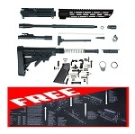Complete AR-15 Carbine 5.56 Nato Build Kit + Free Parts List Build Mat