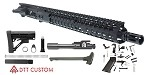 "Davidson Defense ""Sparky"" AR-15 Upper Receiver 16"" 5.56 NATO 4150 CMV H-BAR 1-7T Barrel 15"