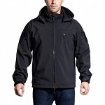 Alpha Trekker Tactical Jacket - Black - Extra Large or Large  *High Quality*       Spring Closeout !!