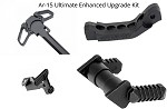 Ar-15 Ultimate Enhanced Upgrade Kit  Includes Ambi Charging Handle, Extended Bolt Hold Open, Ambi Safety, Enhanced Trigger Guard