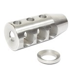 Davidson Defense Super Compensator Stainless Steel For .308  5/8x24 TPI Muzzle Brake w/crush washer