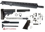 "Davidson Defense ""GT-556"" AR-15 Upper Receiver 16"" 5.56 NATO QPQ Nitride 1-8T Colt Competition Barrel 15"