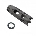 Davidson Defense AR-15 1/2X28 Steel 10 Port Custom Anti Rise Muzzle Brake  Made In the USA