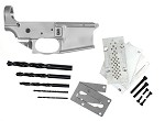 Noreen Firearms AR-15 80% Lower Receiver w/ Trigger Guard and Anderson 80% Jig Kit Combo & Optional LPK