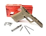 Polymer 80 Glock 80% FDE Pistol Kit Includes Jig & Tools  EZ To Build Super HOT !!