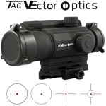 Vector Optics Law Enforcement Grade Exteme Duty AA Battery Powered Gen 5 Tactical Red Dot Sight Multi 4 Reticle Combat Sight
