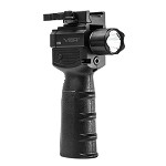 VISM NcSTAR Vertical Grip w/Strobe Flashlight & Green Laser