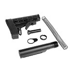 Trinity Force L-E Mil-Spec Buffer Tube & Stock Complete Kit With Recoil Pad