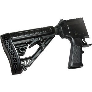 Adaptive Tactical AR-15 EX Performance Adjustable Stock & Mil-Spec Buffer Tube Kit Combo  (Comes With Stock & Buffer Tube Kit)