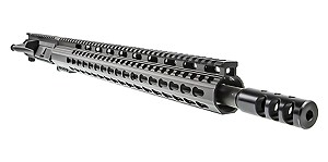 "Davidson Defense ""Vanquish"" AR-15 Upper Receiver 18"" Ultra-Match .224 Valkyrie QPQ Nitride H-BAR 1-7T Barrel 16.5"" KeyMod Handguard (Assembled or Unassembled)"